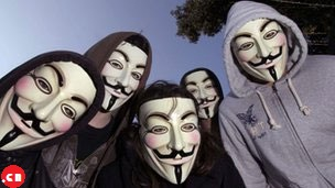 Хакеры Anonymous утверждают, что взломали сотни сайтов в Китае